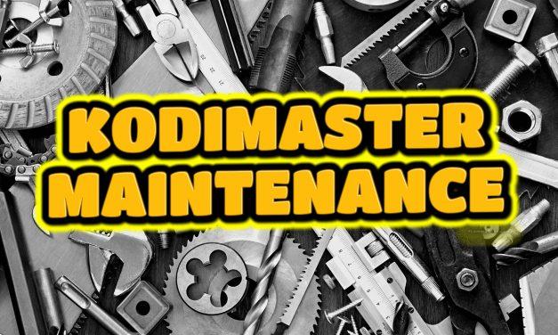 KODIMASTER MAINTENANCE ADD-ON RELEASED
