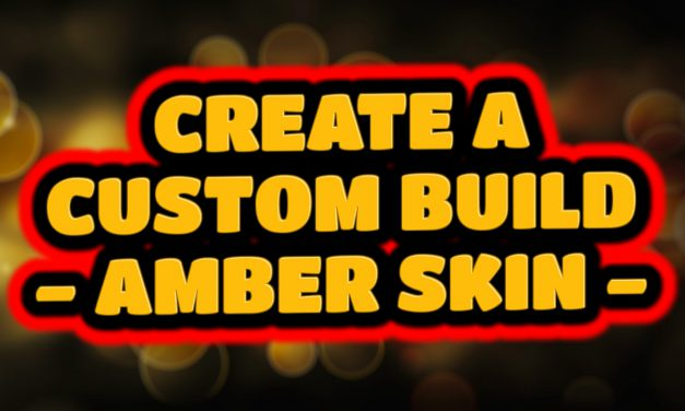 CREATE A KODI CUSTOM BUILD – AMBER SKIN